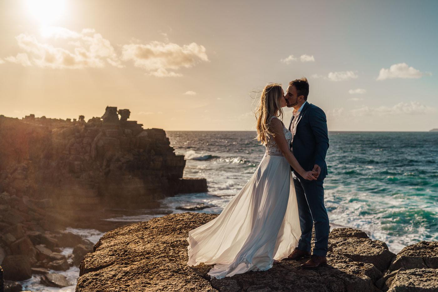 MEMO photo agency - svadobný fotograf - fotenie v zahraničí - fotografie Evka a Dávid- Portugal, Peniche - najkrajšie svadobné fotografie