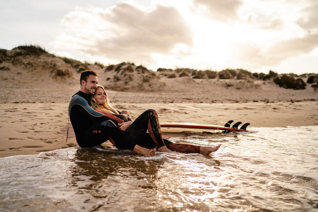 MEMO photo agency - svadobný fotograf - fotenie v zahraničí - fotografie Evka a Dávid- Portugal, Peniche - najkrajšie svadobné fotografie - surfing photography