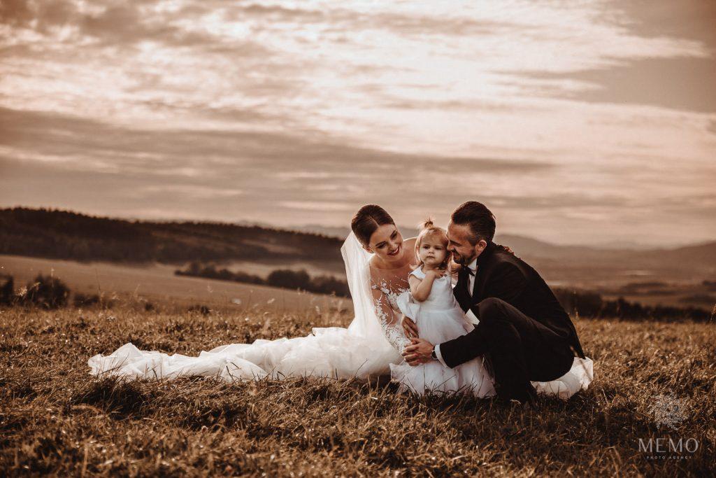 MEMO photo agency - svadobný fotograf - rodinné fotografie - fotografie Miška a Stano - Žilina, Slovensko - najkrajšie svadobné fotografie - family photography